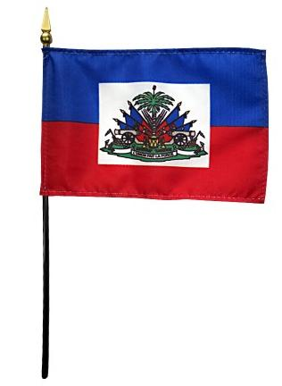 Mini Haiti Flag for sale