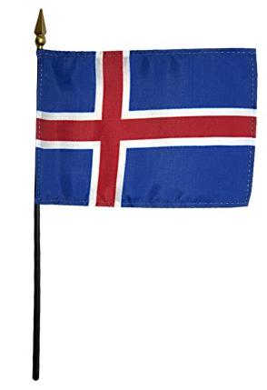 Mini Iceland Flag for sale