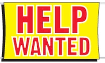 Help Wanted Banner for Sale | Help Wanted Banners