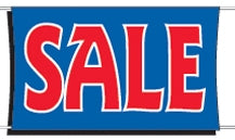 Sale Banner | Sale Banners | Sale Vinyl Banners