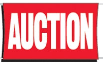 Auction Banner for Sale | Auction Banners