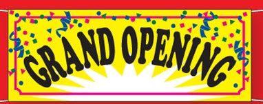 Grand Opening Banner - Grand Opening Banners | Grand Opening Vinyl Banner