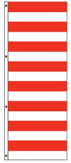 Red/White Stripes America Forever Drape