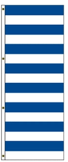 Blue/White Stripes America Forever Drape