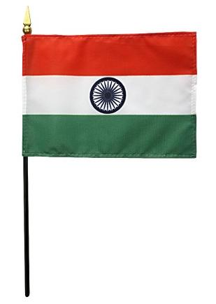 Mini India Flag for sale