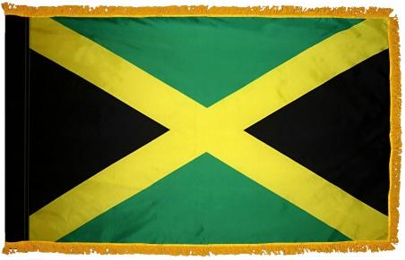 Jamaica Indoor Flag for sale