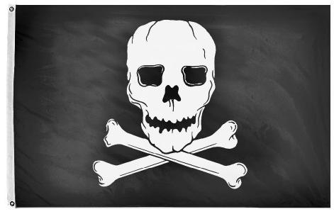 Jolly Roger Flag For Sale - Outdoor Jolly Roger For Sale - Pirate Flag