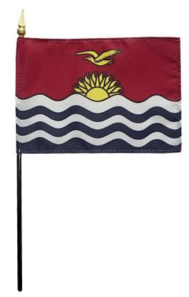 Mini Kiribati Flag for sale