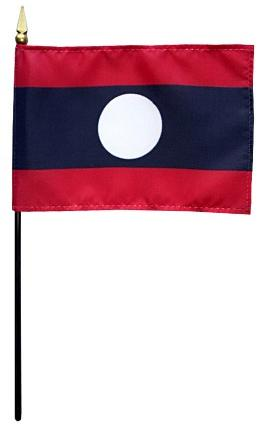 Mini Laos Flag for sale