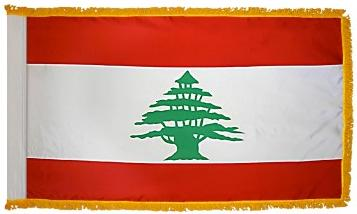 Lebanon Indoor Flag for sale