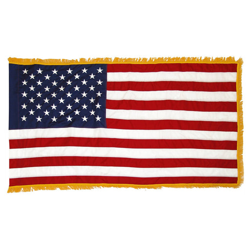 Liberty Series Indoor/Parade Flag with Gold Fringe
