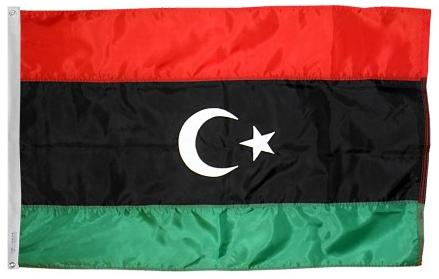 Libya outdoor flag for sale
