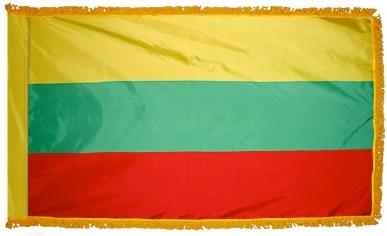 Lithuania Indoor Flag for sale