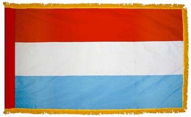 Luxembourg Indoor Flag for sale