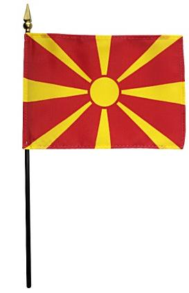 Mini Macedonia Flag for sale
