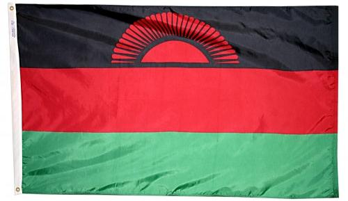 Malawi outdoor flag for sale