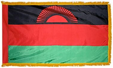 Malawi Indoor Flag for sale