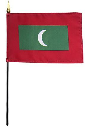 Mini Maldives Flag for sale