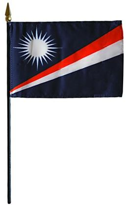 Mini Marshall Islands Flag
