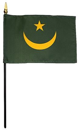 Mini Mauritania Flag for sale