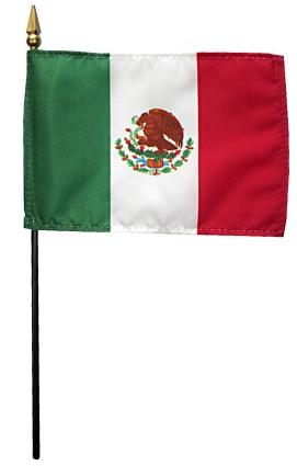 Mini Mexico Flag for sale