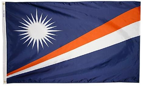Marshall Islands outdoor flag for sale