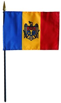 Mini Moldova Flag for sale