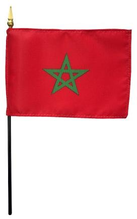 Mini Morocco Flag for sale