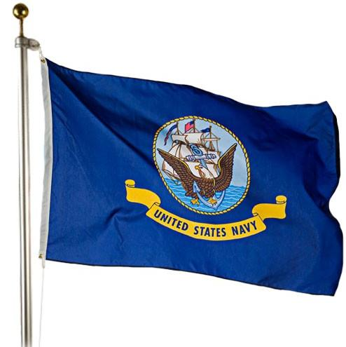 Navy Outdoor Flag