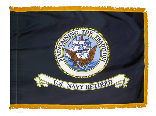 Navy Retired Indoor/Parade Flag