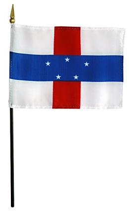 Mini Netherlands Antilles Flag