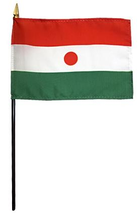 Mini Niger Flag for sale