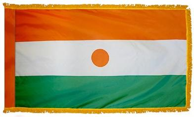 Niger Indoor Flag