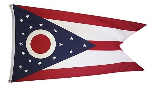 Ohio Flag For Sale - Commercial Grade Outdoor Flag - Made in USA