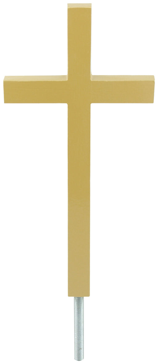 Plain Aluminum Cross