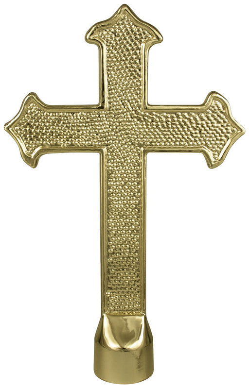 Fancy Cross | Brass Plated