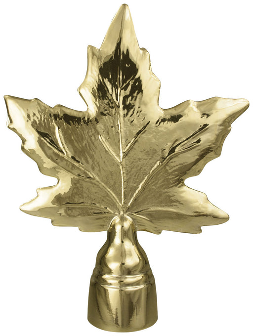 Maple Leaf | Brass Plated