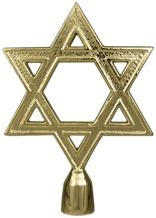 Star of David | Brass Plated