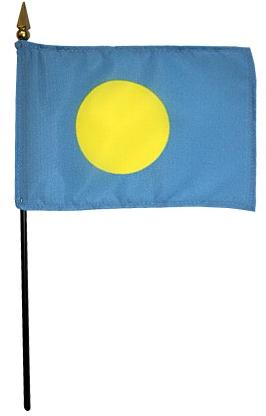 Mini Palau Flag for sale