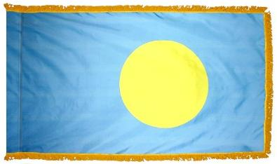 Palau Indoor Flag for sale