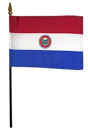 Mini Paraguay Flag for sale