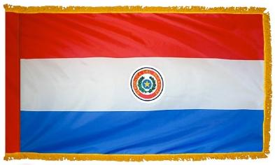 Paraguay Indoor Flag for sale