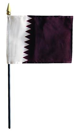 Mini Qatar Flag for sale