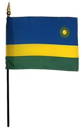 Mini Rwanda Flag for sale