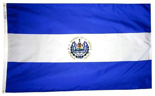 El Salvador Outdoor Flag for Sale