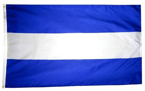 El Salvador (no seal) Outdoor Flag