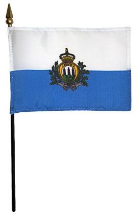 Mini San Marino Flag for sale