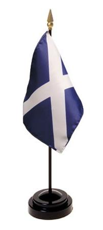 Mini Scotland St. Andrew's Cross Flag for sale