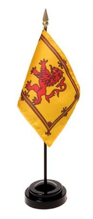Mini Scotland with Rampant Lion Flag for sale