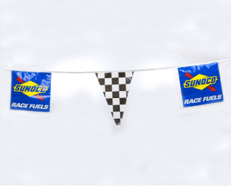 Sunoco Race Fuels Pennant String